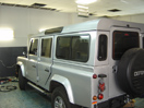 Установка кондиционера в авто Land Rover Defender